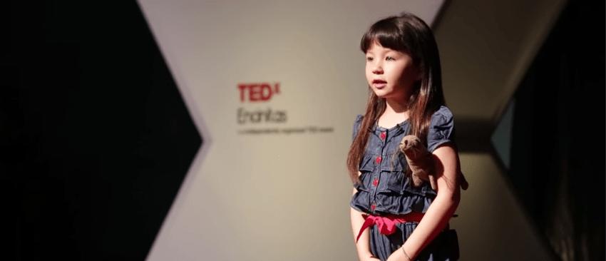 Ted X Talk - Wat we kunnen leren van een 10-jarige in public speaking - Kinderen blijken kampioen in het onder woorden brengen van hun emoties. Terwijl bij (de meeste) volwassenen pas na flink doorvragen de emotie achter een verhaal duidelijk wordt.