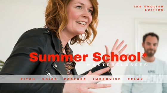 Summer School - Great Communicators - masterclasses